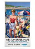 Weston-Super-Mare  the Smile in Smiling Somerset