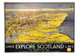Explore Scotland Map