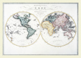 Map - Two Worlds  1806