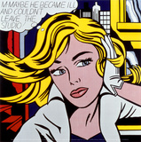 M-Maybe, 1965 Reproduction d'art par Roy Lichtenstein