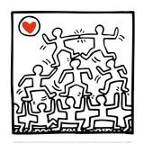 One man show, détail Reproduction d'art par Keith Haring
