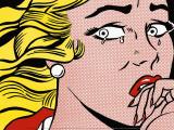Crying Girl, c.1963 Reproduction d'art par Roy Lichtenstein