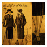 Vintage Womenwear 1925 IV (Yellow)