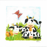 Littles Cows And Butterflies