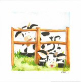 Littles Cows And Fences