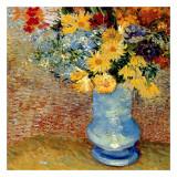 Vase Avec Bouquets De Fleurs Reproduction d'art par Vincent Van Gogh