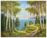 Birches At The Lake I