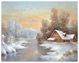 Winter At Lake Ladoga