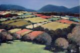 Pastel Landscape VI