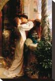 Romeo et Juliette Tableau sur toile par Frank Bernard Dicksee