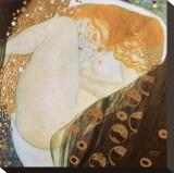 Danae Tableau sur toile par Gustav Klimt