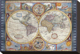 Antique Map  New Map of the World  1626