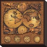 Cartographica III Tableau sur toile