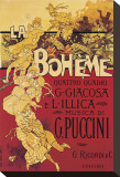Puccini, la Bohème Tableau sur toile par Adolfo Hohenstein