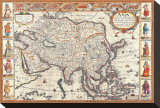 Antique Map  Asia  1626