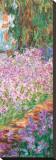 Garden (detail) Tableau sur toile par Claude Monet