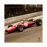 Ferrari F1 Vintage Bandini 67 Sepia