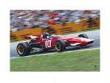 Ferrari F1 Vintage Ickx Race