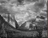 Yosemite Tunnel View Black and White I