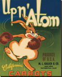 Up n&#39; Atom Brand California Carrots
