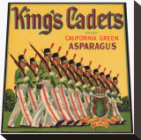 King&#39;s Cadets Brand California Green Asparagus