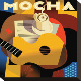 Cubist Mocha I
