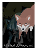 Fox in Black