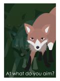 Fox in Green