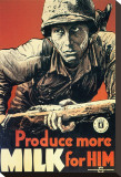 Produce More Milk for Him  c1943