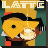 Cubist Latte I