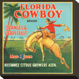 Florida Cowboy Brand Oranges & Grapefruits