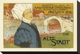 Exhibition of Saxon Artisanry and Commercial Art  Dresden  c1896