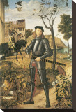 Young Knight In A Landscape: Francesco della Rovere