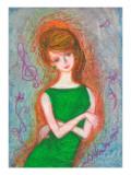Woman of Green Dress