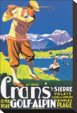 Crans  le plus beau Golf Alpin