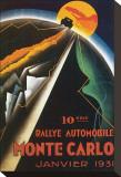 10eme Rallye Automobile Monte Carlo