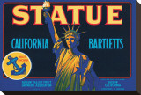 Statue California Bartletts