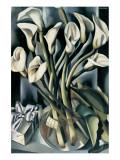 Arums I Giclée premium par Tamara De Lempicka