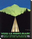 Vers Le Mont Blanc