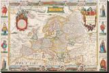 Antique Map  Nova Europa  1652