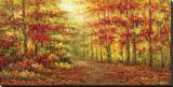 Autumn Path in Gogh
