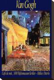 Terrasse de café le soir, place du Forum, Arles, 1888, Tableau sur toile par Vincent Van Gogh