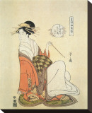 Courtesan Shiratsuyu of The House of Wakana-Ya