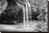 Waterfall  Hocking Hills State Park  Ohio