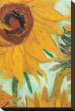Twelve Sunflowers (detail) Tableau sur toile par Vincent Van Gogh