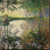 Pond at Montgeron  c1876