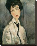 Woman in Black Tie  1917