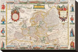 Antique Map  Nova Europa  1652