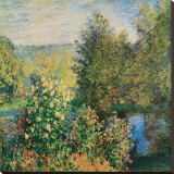 Corner of the Garden at Montgeron  c1876