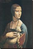Lady with an Ermine Tableau sur toile par Leonardo Da Vinci